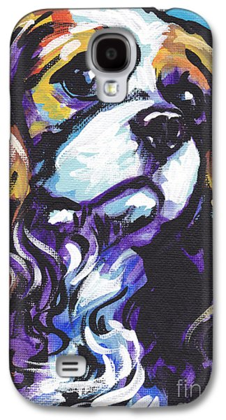 Spaniels Galaxy S4 Cases - Cavalier King Charles Spaniel Galaxy S4 Case by Lea