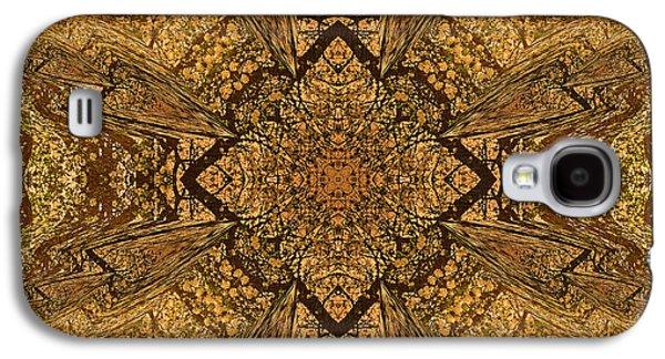 Business Decor Galaxy S4 Cases - Celtic Mandala Abstract Galaxy S4 Case by Georgiana Romanovna
