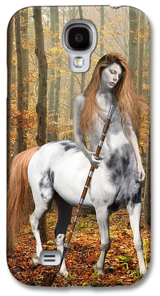 Centaur Series Autumn Walk Galaxy S4 Case by Nikki Marie Smith