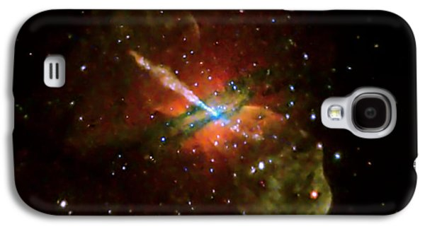 Jet Star Photographs Galaxy S4 Cases - Centaurus A Galaxy S4 Case by Nasa