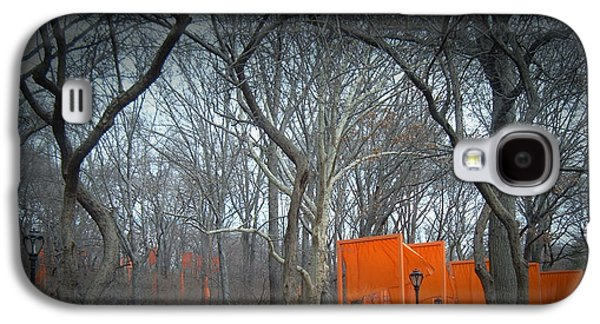 Cab Galaxy S4 Cases - Central Park Galaxy S4 Case by Naxart Studio