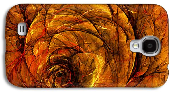 Tendrils Galaxy S4 Cases - Chaos Galaxy S4 Case by Scott Norris