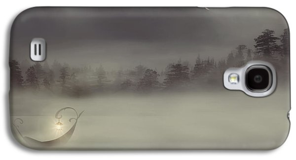 Night Angel Galaxy S4 Cases - Charons Boat Galaxy S4 Case by Lourry Legarde