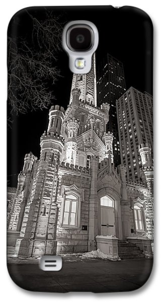 Tourism Galaxy S4 Cases - Chicago Water Tower Galaxy S4 Case by Adam Romanowicz