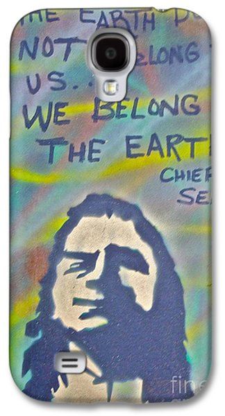 99 Percent Galaxy S4 Cases - Chief Sealth Galaxy S4 Case by Tony B Conscious