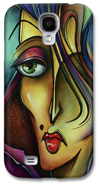 Mood Paintings Galaxy S4 Cases - Chil Galaxy S4 Case by Michael Lang