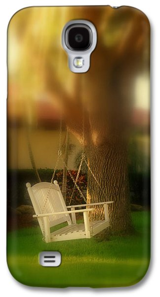 Garden Scene Galaxy S4 Cases - Childhood Memories Galaxy S4 Case by Susanne Van Hulst