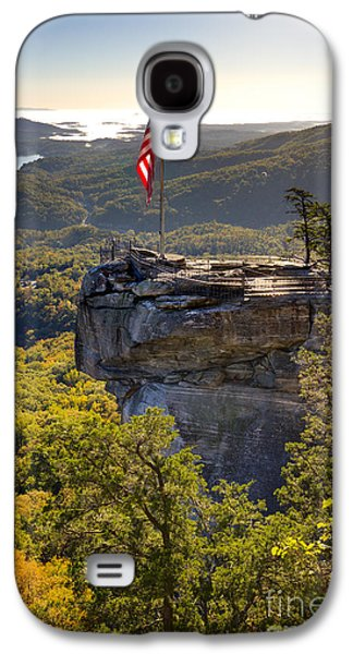 Chimneys Galaxy S4 Cases - Chimney Rock State Park North Carolina Galaxy S4 Case by Dustin K Ryan