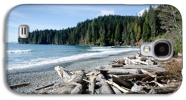 China Beach Galaxy S4 Cases - CHINA BEACH vancouver island juan de fuca provincial park Galaxy S4 Case by Andy Smy