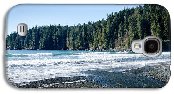 China Surf China Beach Juan De Fuca Provincial Park Bc Canada Galaxy S4 Case by Andy Smy