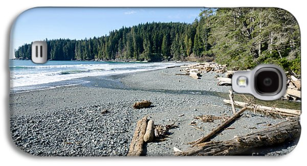 China Beach Galaxy S4 Cases - CHINA WIDE china beach juan de fuca provincial park vancouver island BC canada Galaxy S4 Case by Andy Smy