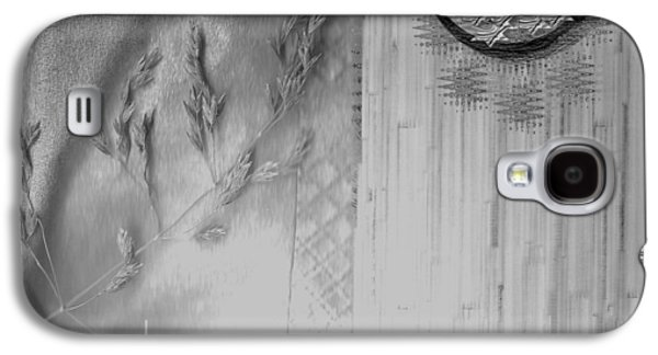 Contemplative Mixed Media Galaxy S4 Cases - Chinese Garden Galaxy S4 Case by Pepita Selles