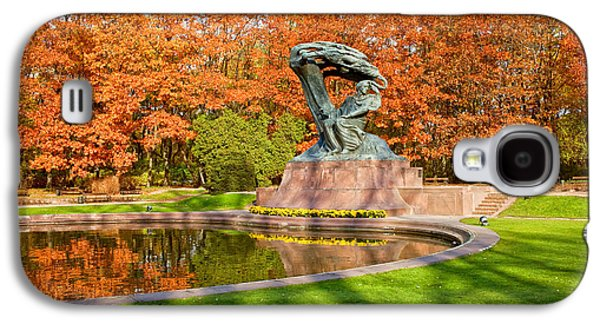 Polish Culture Galaxy S4 Cases - Chopin Monument in the Lazienki Park Galaxy S4 Case by Artur Bogacki