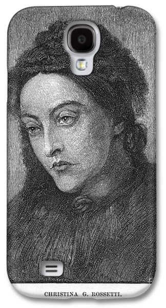 Rossetti Photographs Galaxy S4 Cases - Christina Rossetti Galaxy S4 Case by Granger