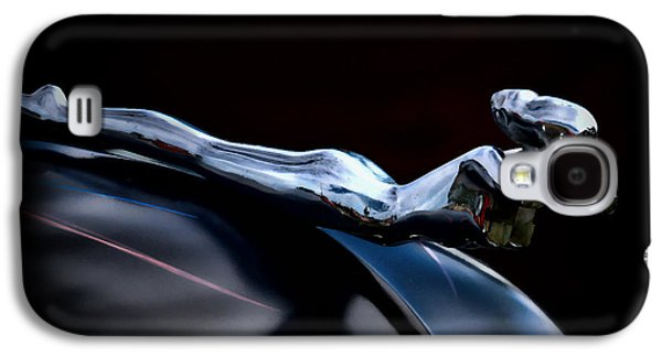 Car Mascot Digital Galaxy S4 Cases - Chrome Angel Galaxy S4 Case by Douglas Pittman