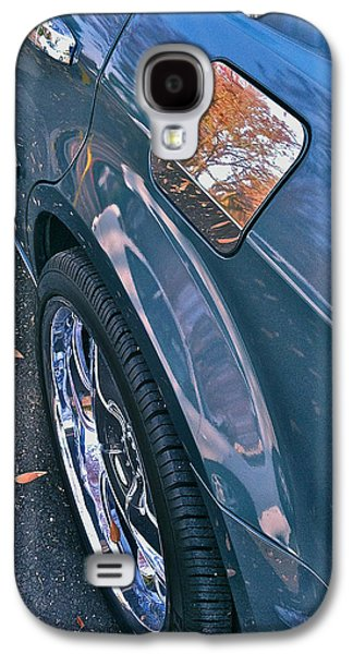Car Hod Photographs Galaxy S4 Cases - Chrome Tree Galaxy S4 Case by Bill Owen