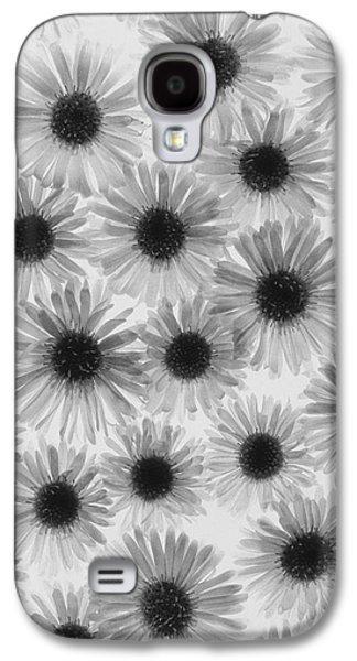 Stigma Galaxy S4 Cases - Chrysanthemum Flowers Galaxy S4 Case by Graeme Harris