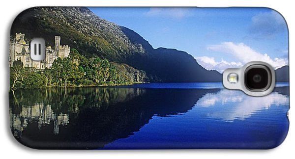 Monasticism Galaxy S4 Cases - Church At The Waterfront, Kylemore Galaxy S4 Case by The Irish Image Collection