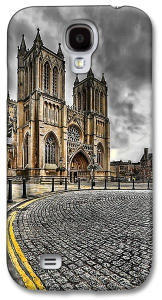 Yellow Line Galaxy S4 Cases - Church of England Galaxy S4 Case by Adrian Evans