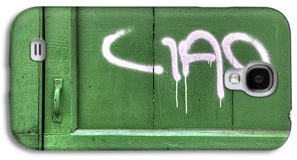 Wooden Door Galaxy S4 Cases - Ciao Galaxy S4 Case by Joana Kruse