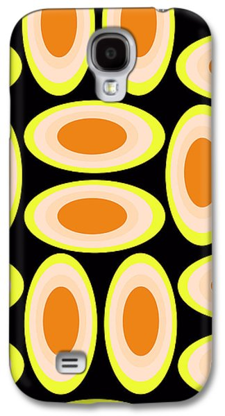 Louisa Galaxy S4 Cases - Circles Galaxy S4 Case by Louisa Knight