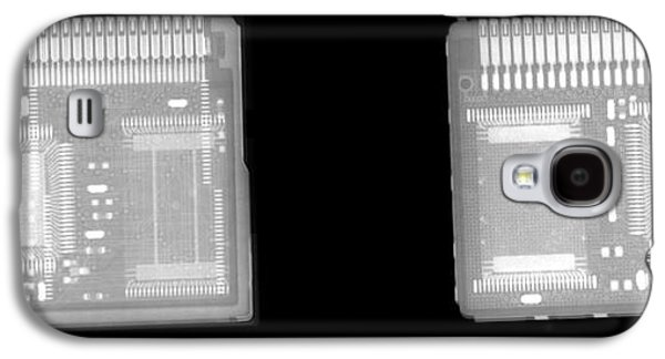 Component Photographs Galaxy S4 Cases - Circuit Boards Galaxy S4 Case by Ted Kinsman