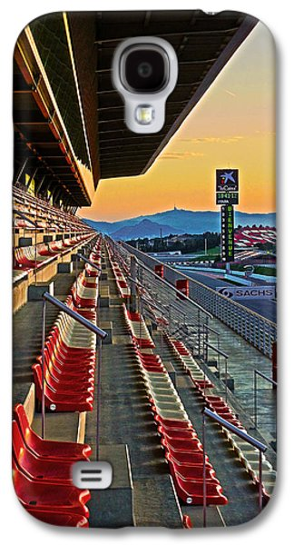 Spanien Galaxy S4 Cases - Circuit de Catalunya - Barcelona  Galaxy S4 Case by Juergen Weiss
