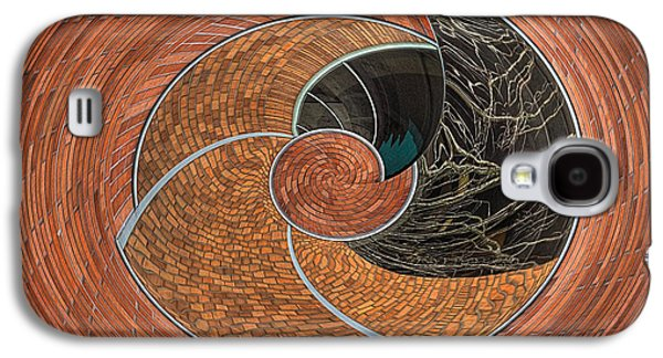 Creative Manipulation Galaxy S4 Cases - Circular Koin Galaxy S4 Case by Jean Noren