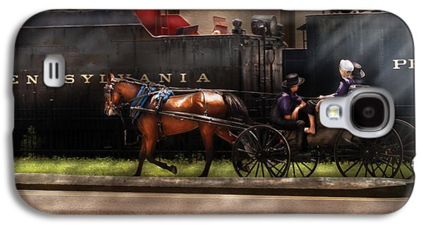 Amish Family Photographs Galaxy S4 Cases - City - Lancaster PA - You got to love Lancaster Galaxy S4 Case by Mike Savad