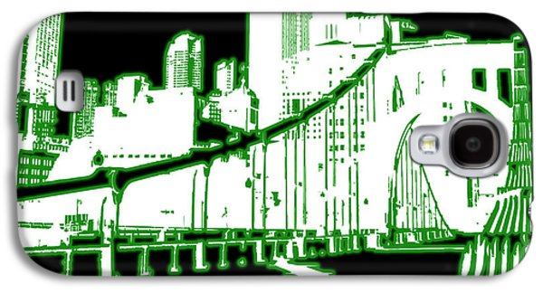 Digital Art Greeting Cards Galaxy S4 Cases - City 5 Galaxy S4 Case by Evelyn Patrick