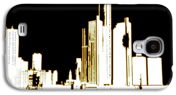 Digital Art Greeting Cards Galaxy S4 Cases - City 6 Galaxy S4 Case by Evelyn Patrick