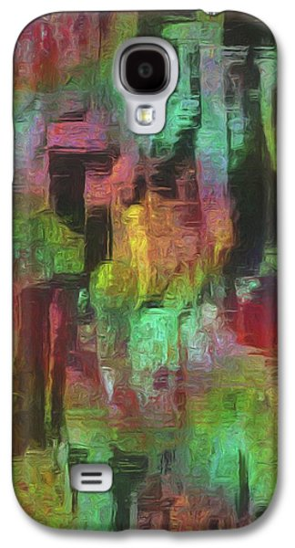 Painter Photo Galaxy S4 Cases - City At Night Galaxy S4 Case by Jack Zulli
