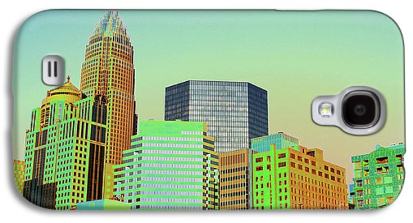 Charlotte Galaxy S4 Cases - City of Colors Galaxy S4 Case by Karol  Livote
