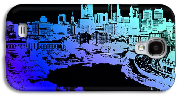 Digital Art Greeting Cards Galaxy S4 Cases - Cityscape 3 Galaxy S4 Case by Evelyn Patrick