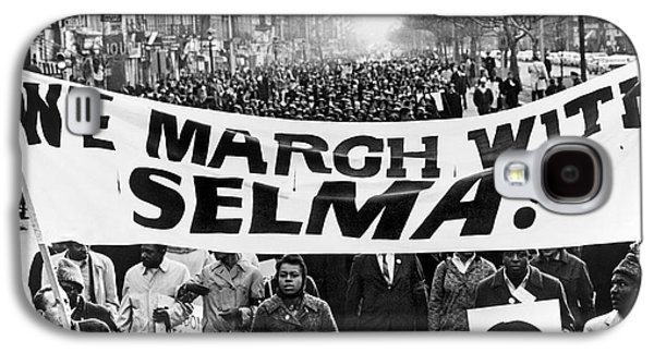 Anti-discrimination Galaxy S4 Cases - Civil Rights March, 1965 Galaxy S4 Case by Granger
