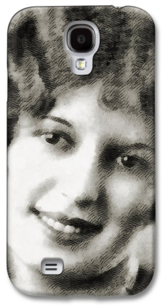 Smiling Mixed Media Galaxy S4 Cases - Classic Galaxy S4 Case by Angelina Vick