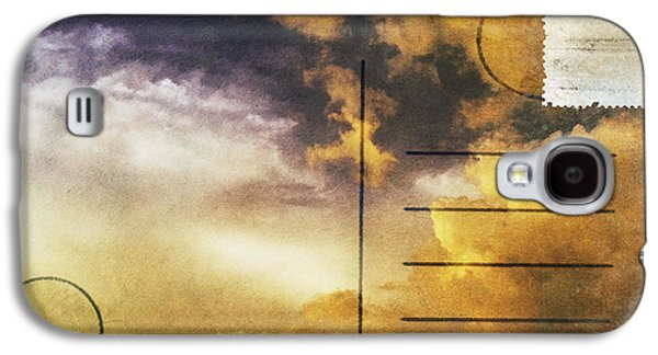 Torn Galaxy S4 Cases - Cloud In Sunset On Postcard Galaxy S4 Case by Setsiri Silapasuwanchai