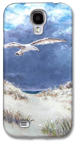 Jack Skinner Galaxy S4 Cases - Cloudy with a Chance of Seagulls Galaxy S4 Case by Jack Skinner