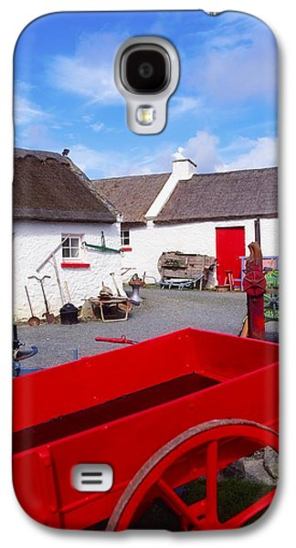 Enterprise Galaxy S4 Cases - Co Donegal, Ireland Cottage Near Galaxy S4 Case by The Irish Image Collection