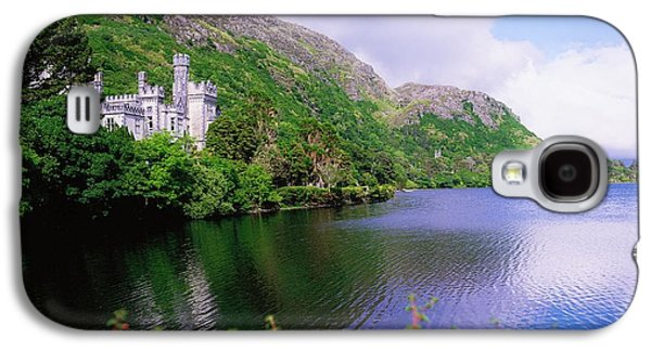 Monasticism Galaxy S4 Cases - Co Galway, Ireland, Kylemore Abbey Galaxy S4 Case by The Irish Image Collection
