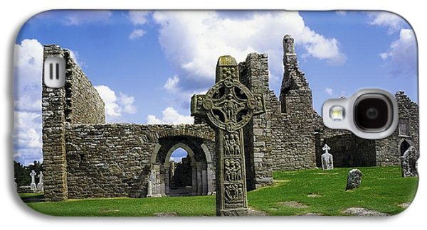 Monasticism Galaxy S4 Cases - Co Offaly, Clonmacnoise Galaxy S4 Case by The Irish Image Collection