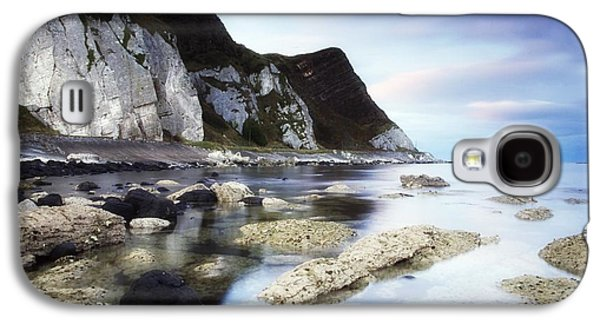 Mystic Setting Galaxy S4 Cases - Coast Between Carnlough & Waterfoot, Co Galaxy S4 Case by The Irish Image Collection
