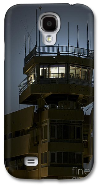 Traffic Control Galaxy S4 Cases - Cob Speicher Control Tower Galaxy S4 Case by Terry Moore