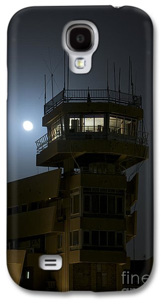 Traffic Control Galaxy S4 Cases - Cob Speicher Control Tower Under A Full Galaxy S4 Case by Terry Moore