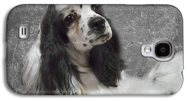 Spaniels Galaxy S4 Cases - Cocker Spaniel Galaxy S4 Case by Rebecca Cozart