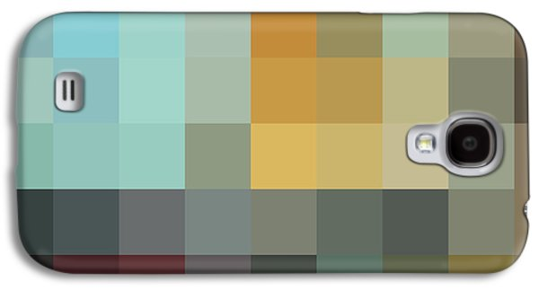 Color Block Galaxy S4 Cases - COLOR BLOCKING In the Maze II by MADART Galaxy S4 Case by Megan Duncanson