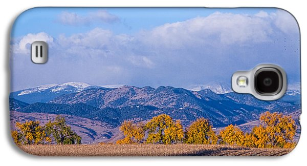 Landscape Acrylic Prints Galaxy S4 Cases - Colorado Autumn Morning Scenic View Galaxy S4 Case by James BO  Insogna