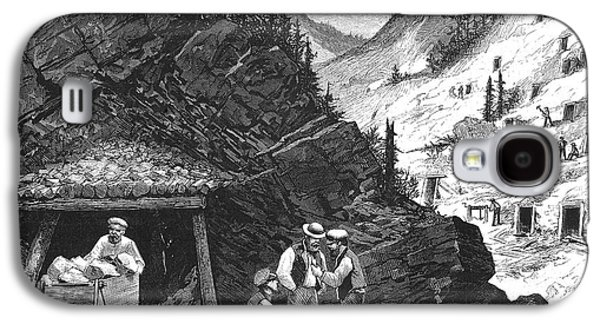 1874 Galaxy S4 Cases - Colorado: Mining, 1874 Galaxy S4 Case by Granger