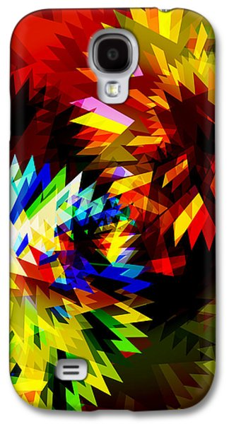 Meshed Galaxy S4 Cases - Colorful Blade Galaxy S4 Case by Atiketta Sangasaeng