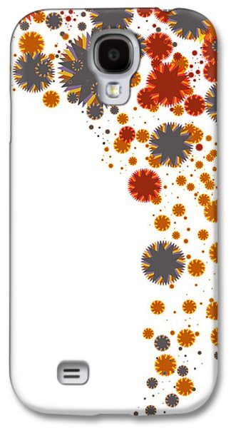 Meshed Galaxy S4 Cases - Colorful Blades Galaxy S4 Case by Atiketta Sangasaeng
